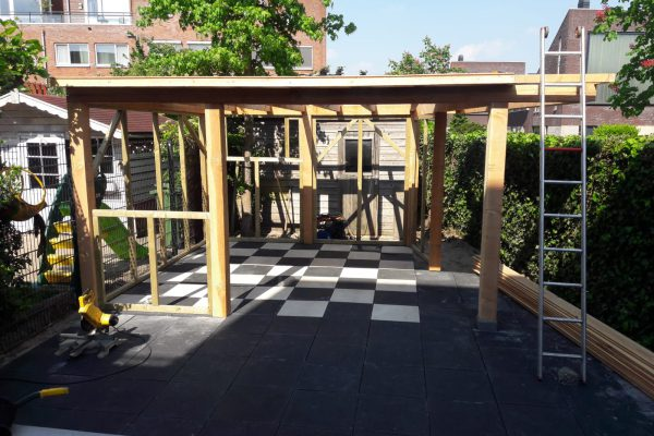 overkapping hout Amersfoort