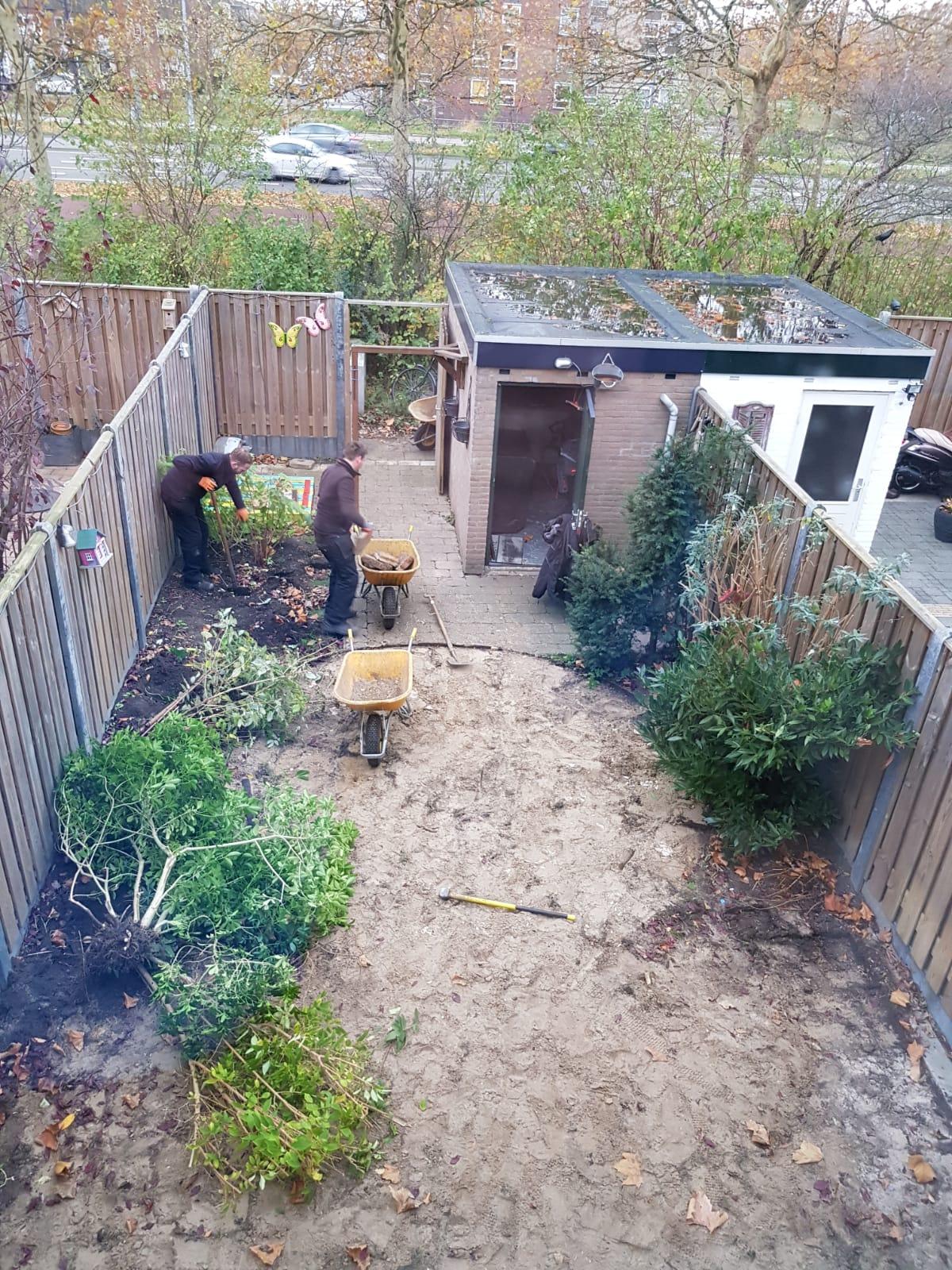Tuinrenovatie Kroeze