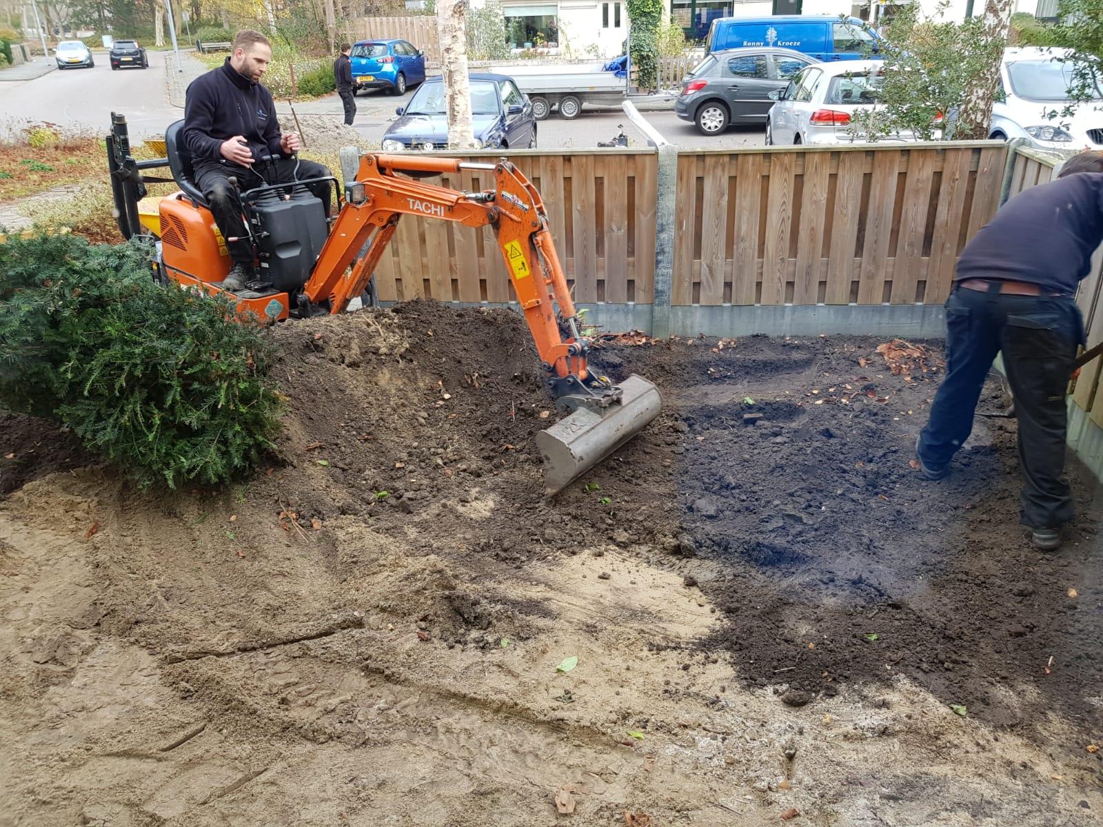 Ronny Kroeze tuinrenovatie