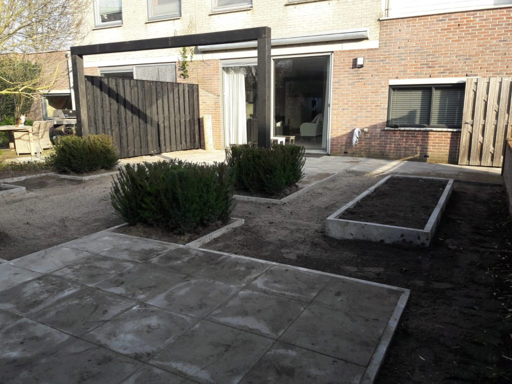 Project aanleg tuin Leusden